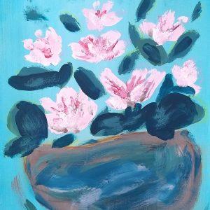My flower: pink constellation