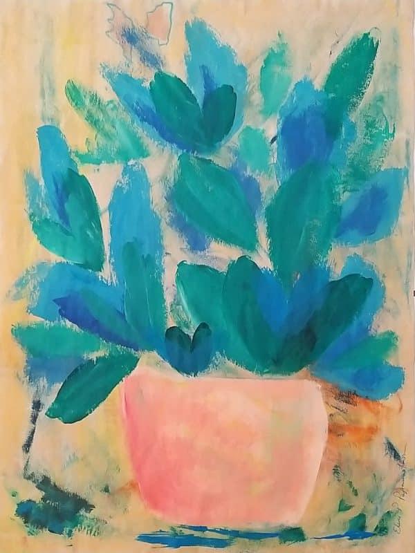 Blue jade plant